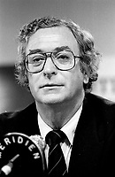 August 27, 1987 File Photo -  actor, Michael Caine at 1987 Montreal  World Film Festival.