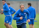 St Johnstone Training…22.07.16<br />Steven Anderson pictured during training this morning at McDiarmid Park ahead of tomorrows Betfred Cup game against Falkirk.<br />Picture by Graeme Hart.<br />Copyright Perthshire Picture Agency<br />Tel: 01738 623350  Mobile: 07990 594431
