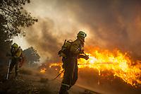 2012-08-20 Forest Fire Castrocontrigo-Tabuyo del Monte