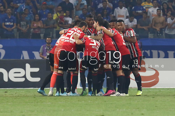 Belo Horizonte (MG), 16/10/2019 - Cruzeiro-São Paulo - Partida entre Cruzeiro e São Paulo, válida pela 26a rodada do Campeonato Brasileiro no Estadio Mineirão nesta quarta feira (16) em Belo Horizonte