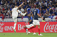 Lyon, France - Saturday June 09, 2018: Bobby Wood during an international friendly match between the men's national teams of the United States (USA) and France (FRA) at Groupama Stadium.