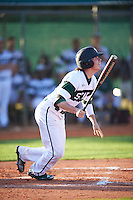 Chicago State Cougars right fielder Zach Thomas (44) at bat during a game against the Georgetown Hoyas on March 3, 2017 at North Charlotte Regional Park in Port Charlotte, Florida.  Georgetown defeated Chicago State 11-0.  (Mike Janes/Four Seam Images)