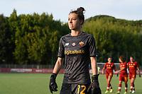 4th September 2021; Agostino di Bartolomei Stadium, Rome, Italy; Serie A womens championship football, AS Roma versus Napoli ; Camelia Ceaser of roma