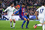 Real Madrid's Isco Alarcon, FC Barcelona's Andre Gomes  during spanish La Liga match between Futbol Club Barcelona and Real Madrid  at Camp Nou Stadium in Barcelona , Spain. Decembe r03, 2016. (ALTERPHOTOS/Rodrigo Jimenez)