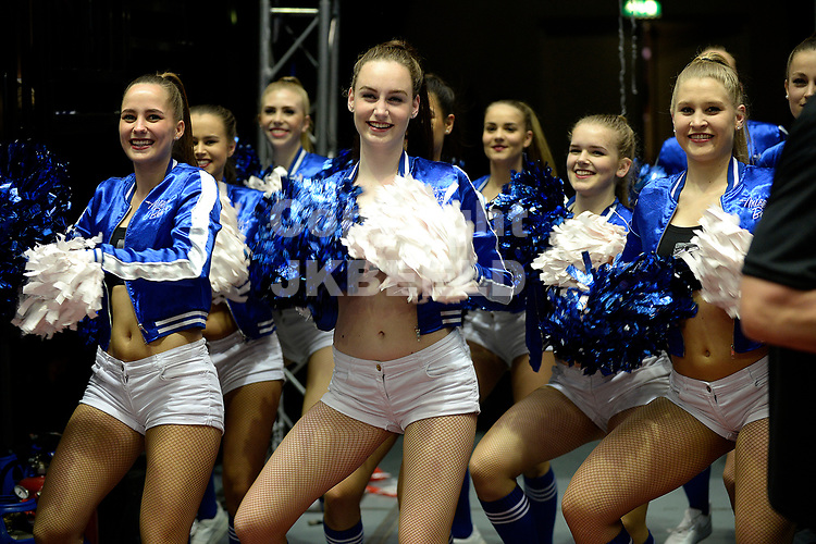 GRONINGEN - Basketbal, Donar - Umana Reyer Venezia, Martiniplaza,  Europe Cup, seizoen 2017-2018, 19-04-2018,  cheerleaders