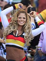 A busty Germany fan