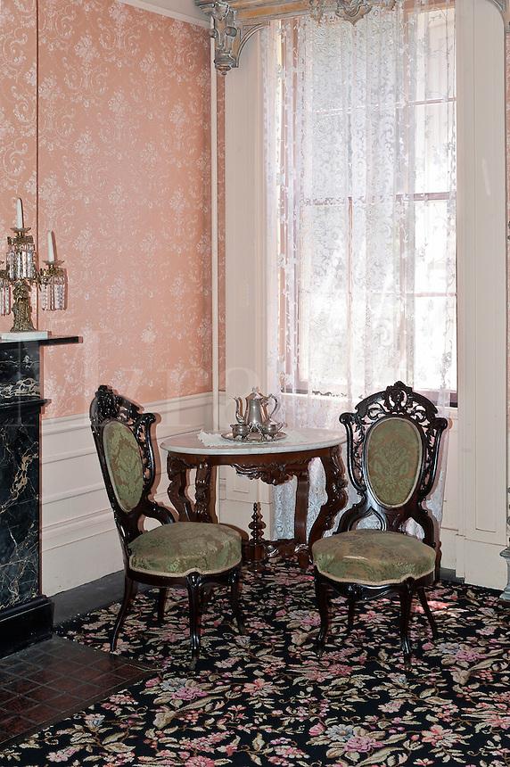 Historic Smithville Mansion interior, Smithville, New Jersey, USA
