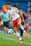 SL Benfica's Nicolas Gaitan during Champions League 2015/2016 match. September 30,2015. (ALTERPHOTOS/Acero)