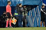 Leganes coach Asier Garitano vs Real Madrid during Copa del Rey  match. A quarter of final go. 20180118.