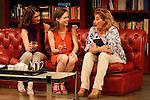 Ruth Gabriel (l) Lidia Navarro (c) and Ana Marzoa at VERANO in the Fernan Gomez Theater.28 june 2012.(ALTERPHOTOS/ARNEDO)