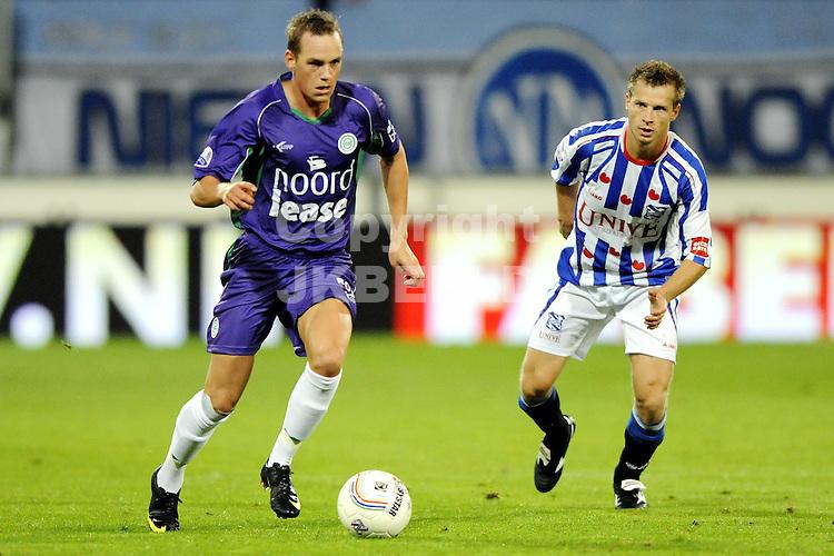 voetbal sc heerenveen - fc groningen  eredivisie seizoen 2009-2010 12-09-2009 thomas enevoldsen.
