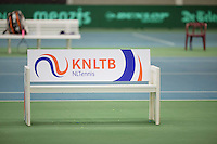 March 15, 2015, Netherlands, Rotterdam, TC Victoria, NOJK, bench<br /> Photo: Tennisimages/Henk Koster
