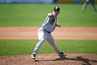 Staten Island Yankees relief pitcher Trevor Lane (60) during a game against the Batavia Muckdogs on August 28, 2016 at Dwyer Stadium in Batavia, New York.  Batavia defeated Staten Island 6-0.  (Mike Janes/Four Seam Images)