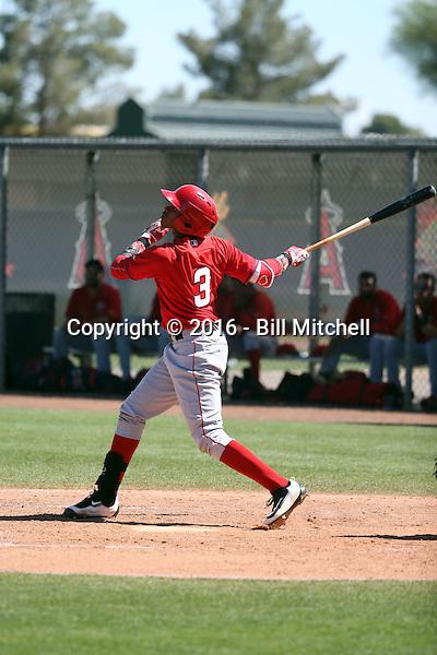 Julio Garcia - Los Angeles Angels 2016 spring training (Bill Mitchell)