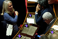 Julia Unterberger and Pier Ferdinando Casini<br /> Rome September 10th 2019. Senate. Discussion and Trust vote at the new Government. <br /> Foto  Samantha Zucchi Insidefoto