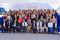 PHOTO CALL réunissant les personnalités présentes pour les 70 ans, dans le cadre de la journée anniversaire de la 70e édition du Festival du Film à Cannes, Palais des Festivals et des Congres, Cannes, Sud de la France, mardi 23 mai 2017. Philippe FARJON / VISUAL Press Agency