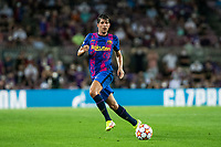 14th September 2021: Nou Camp, Barcelona, Spain: ECL Champions League football, FC Barcelona versus Bayern Munich: Sergio Roberto