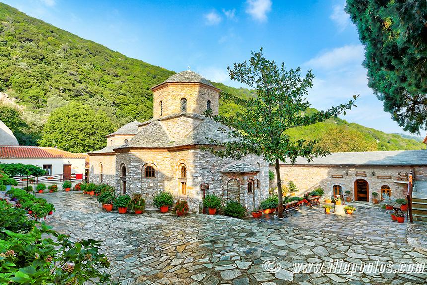 The Monastery of Evagelistria in Skiathos island, Greece
