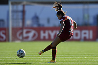 Annamaria Serturini of AS Roma in action during the Women Italy cup round of 8 second leg match between AS Roma and Florentia S.G. at stadio delle tre fontane, Roma, February 14, 2021. Photo Andrea Staccioli / Insidefoto