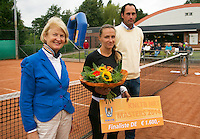 August 17, 2014, Netherlands, Raalte, TV Ramele, Tennis, National Championships, NRTK,  womans final: overall view prize giving<br /> Photo: Tennisimages/Henk Koster