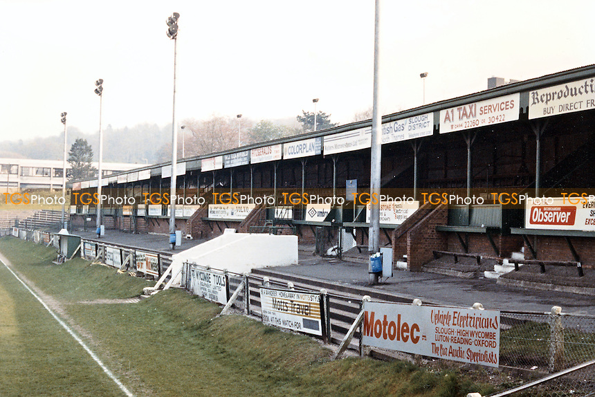 Loakes Park - Wycombe Wanderers Football Club 1990 - scanned 13/09/07  - MANDATORY CREDIT: Gavin Ellis/TGSPHOTO - SELF-BILLING APPLIES WHERE APPROPRIATE. NO UNPAID USE. TEL: 0845 094 6026..
