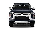 Car photography straight front view of a 2020 Mitsubishi L200 Intense-Edition-One 4 Door Pick-up Front View