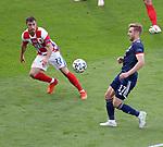 23.06.2021 Croatia v Scotland follow ups: Stuart Armstrong and Josip Juranovic