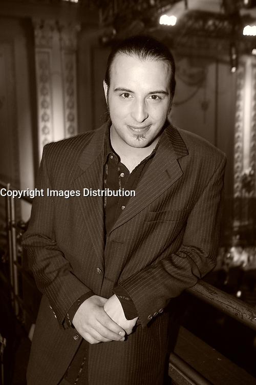 Hugo Lapointe launch his latest CD LA TRENTAINE at the Plaza in Montreal, February 13 ,2007<br /> <br /> Hugo Lapointe lance son nouvel album LA TRENTAINE<br /> au Plaza, rue St-Hubert à  Montréal, le 13 février 2007.<br /> <br /> Photo : (c) 2007 Pierre Roussel- images Distribution