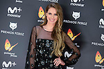 Vanesa Romero attends to the Feroz Awards 2017 in Madrid, Spain. January 23, 2017. (ALTERPHOTOS/BorjaB.Hojas)