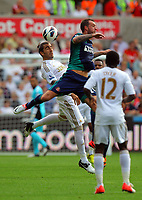 Saturday, 01 September 2012<br /> Pictured: <br /> Re: Barclays Premier League, Swansea City FC v Sunderland at the Liberty Stadium, south Wales.<br /> Chico Flores of Swansea