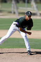 Kurt Yacko - Colorado Rockies - 2009 spring training.Photo by:  Bill Mitchell/Four Seam Images