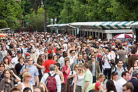 25-5-08, France,Paris, Tennis, Roland Garros, The crowd on day one!!