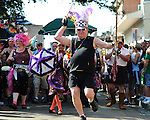 Images from the Annual Southern Decadence parade held in the French Quarter of New Orleans.