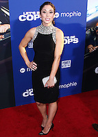 """HOLLYWOOD, LOS ANGELES, CA, USA - AUGUST 07: Jessica Luza at the Los Angeles Premiere Of 20th Century Fox's """"Let's Be Cops"""" held at ArcLight Cinemas Cinerama Dome on August 7, 2014 in Hollywood, Los Angeles, California, United States. (Photo by Xavier Collin/Celebrity Monitor)"""