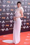 Juana Acosta attends to the Red Carpet of the Goya Awards 2017 at Madrid Marriott Auditorium Hotel in Madrid, Spain. February 04, 2017. (ALTERPHOTOS/BorjaB.Hojas)