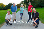 Donal McCarthy, Pat O'Neill, Norrie O'Neill, Mike Gorman and John  O'Shea who are appealing for people to sign up for the Kerry South MS Ireland 19th Old Kenmare Walk which can be done in your own location