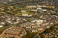 Charlotte aerial photography - October 2010 - of the Ballantyne Shopping Center and business center.