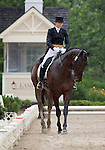 10 July 2009: Becky Roper riding Jireh during the dressage phase of the CIC 2* Maui Jim Horse Trials at Lamplight Equestrian Center in Wayne, Illinois.