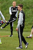 Swansea City FC, training session, Llandarcy, Swansea, 16/03/12<br /> Pictured: Joe Allen<br /> Picture by: Ben Wyeth / Athena Picture Agency<br /> info@athena-pictures.com