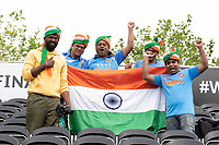 The Indian fans remain unfazed by the inclement weather during India vs New Zealand, ICC World Test Championship Final Cricket at The Hampshire Bowl on 22nd June 2021