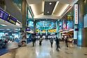 Miami international Airport interior view.<br /> Heery