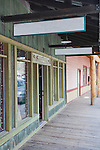 The wooden sideqalks of Winthrop, Washington lend the air of an old Western town.