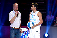 GRONINGEN - Basketbal , Open Dag met Donar - Antwerp Giants , voorbereiding seizoen 2021-2022, 05-09-2021,  Donar speler Leon Williams