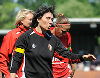 RSC Anderlecht Dames - Standard Femina : Standard kampioen 2010 - 2011 : Fery Ferraguzzi.foto DAVID CATRY / Vrouwenteam / Loft6