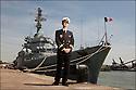 Christian Schreiber<br /> Enseigne de vaisseau de 1er classe.<br /> Officier d'échange de la Marine Allemande<br /> Instructeur adjoint domaine nautique