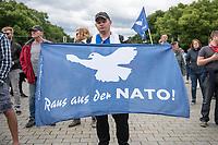 2020/05/30 Politik | Berlin | Kundgebung gegen US-Airbase