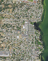 aerial map, Lakeport, Lake County, California, 2014