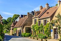 France, Cher (18), Apremont-sur-Allier, labellisé Plus Beaux Villages de France,