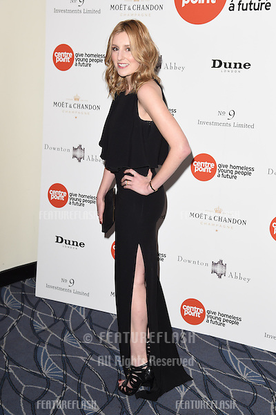 Laura Carmichael arrives for The Downton Abbey Ball 2015 in aid of Centrepoint charity at the Savoy Hotel, London. 30/04/2015 Picture by: Steve Vas / Featureflash