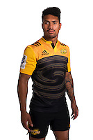Ardie Savea. Hurricanes Super Rugby official headshots at Rugby League Park, Wellington, New Zealand on Wednesday, 6 January 2016. Photo: Dave Lintott / lintottphoto.co.nz